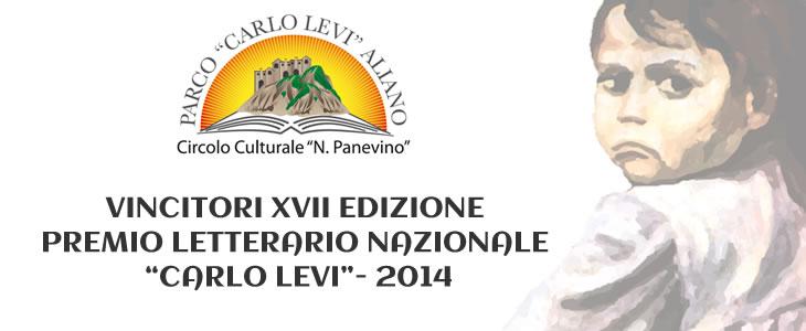 Vincitori XVII Ed. Premio Letterario Nazionale Carlo Levi