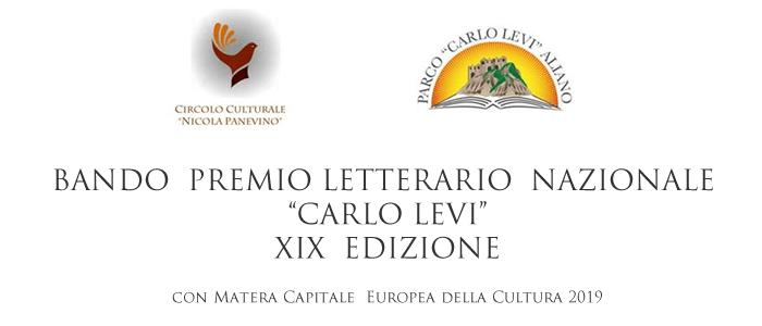 XIX Premio Letterario CARLO LEVI
